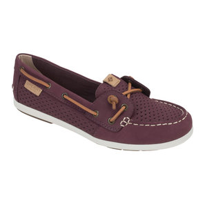 Women S Coil Ivy Scale Emboss Boat Shoes