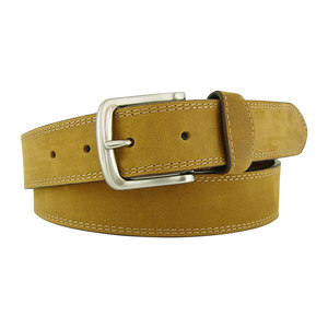 Men's Plain All-Leather Belt