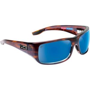 Fish Hook Polarized Glass Sunglasses
