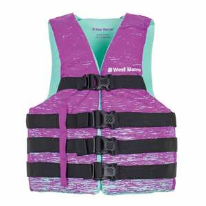 Women's Nylon Water Ski Life Jackets