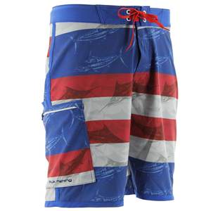 Men's KC Scott Blue Marlin USA Board Shorts