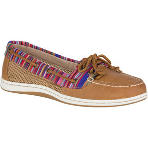 Women's Firefish Stripe Boat Shoes