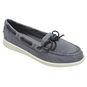 99ed528013e1d Clearance Women's Oasis Canal Canvas Shoes. GREY. SPERRY