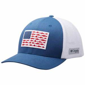 Men's PFG Mesh™ Fish Flag Ball Cap