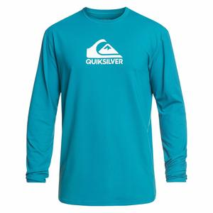 Men's Solid Streak Rash Guard