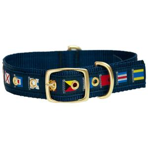 Code Flag Dog Collars