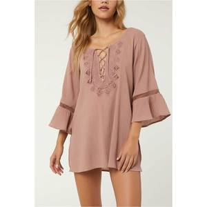 Women's Salt Water Solids Cover-Up