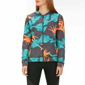 Women's Hanoi Hooded Full-Zip Rash Guard