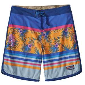 Men's Scallop Hem Stretch Wavefarer Board Shorts