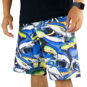Men's Hydro-Lite Fish Storm Board Shorts