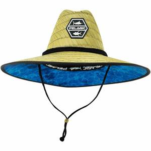054914a4 Men's Baja Blue Hex Straw Hat