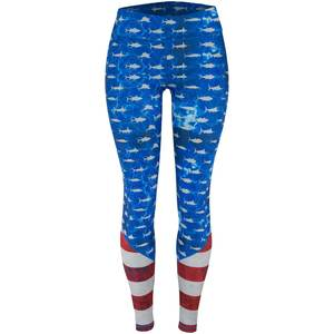 Women's Fiji Americamo Swim Leggings