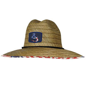 American Lifeguard Straw Fishing Hat