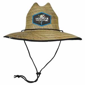 Tuna Lifeguard Straw Fishing Hat