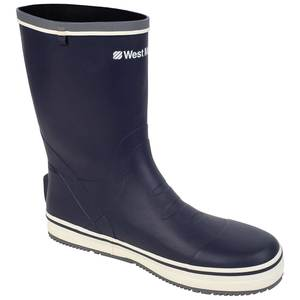Men's Short Rubber Deck Boots