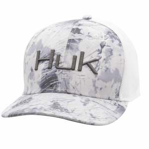 Men's Camo Trucker Stretch Cap