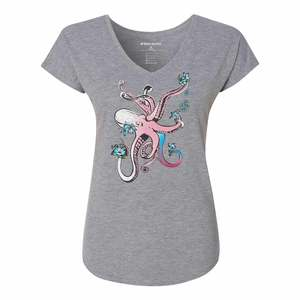 Women's Octopus Flower Shirt