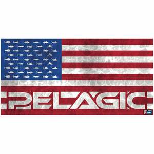 Americamo Hex Beach Towel