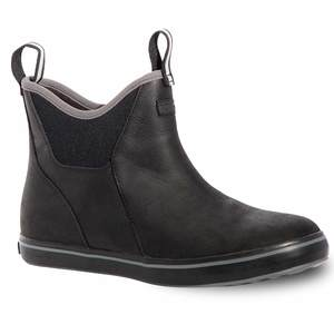 Men's Leather Ankle Deck Boots