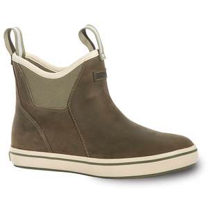 Women's Leather Ankle Deck Boots