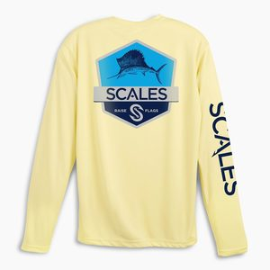 Men's Sailfish Badge SCALES PRO Performance Shirt