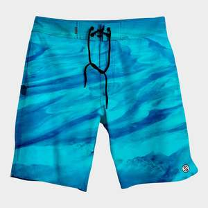 Men's First Mates Bahamas Current Board Shorts