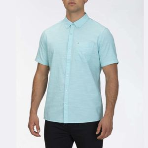 Hurley Men/'s One and Only Button Front Shirt
