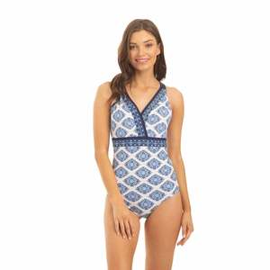 Women's Embroidered One-Piece Swimsuit
