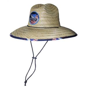 Sails & Stripes Lifeguard Straw Hat