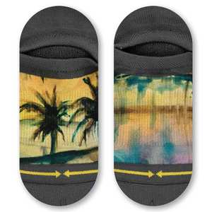 Maia Negre Liquid Sunset No Show Socks