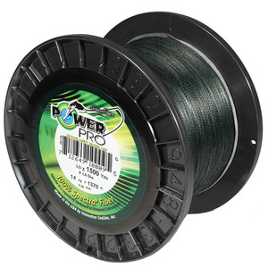 Spectra Braided Fishing Line, Green, 500 yds.