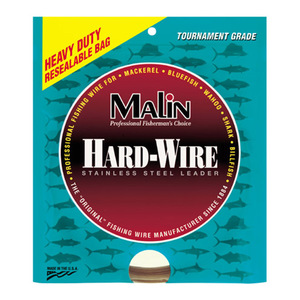 Hard-Wire Stainless Steel Leader, 1/4Lb, 0.013 Dia., 40Lb