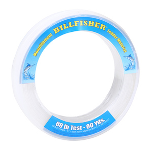 Monofilament Leader Wrist Spools, Clear