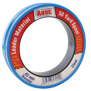 Fluorocarbon Leader, 50 yard, 15 lbs., Clear