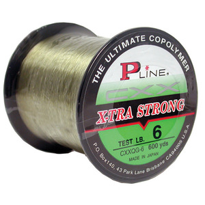 X-Tra Strong Monofilament, Moss Green