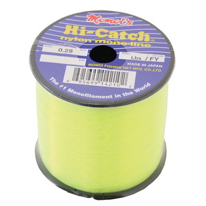 Hi-Catch Monofilament Fishing Line, 1/4Lb Spool, Yellow