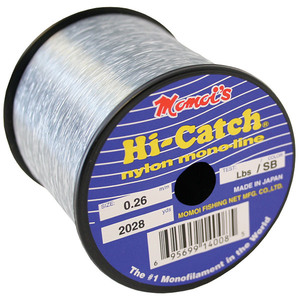 Hi-Catch Monofilament Fishing Line, 1/4LB Spool, Smoke Blue