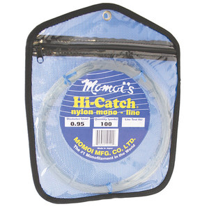 Hi-Catch Leader Coil, 100yds, Clear White