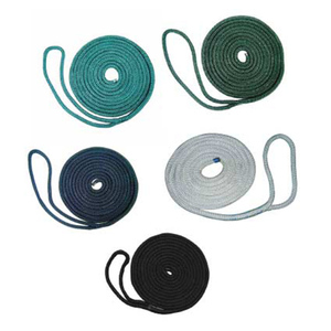 Premium Nylon Double Braid Dock Line