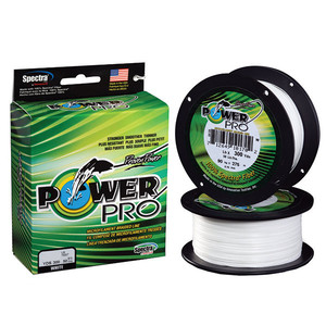 Spectra Braided Fishing Line, White, 300 yds.