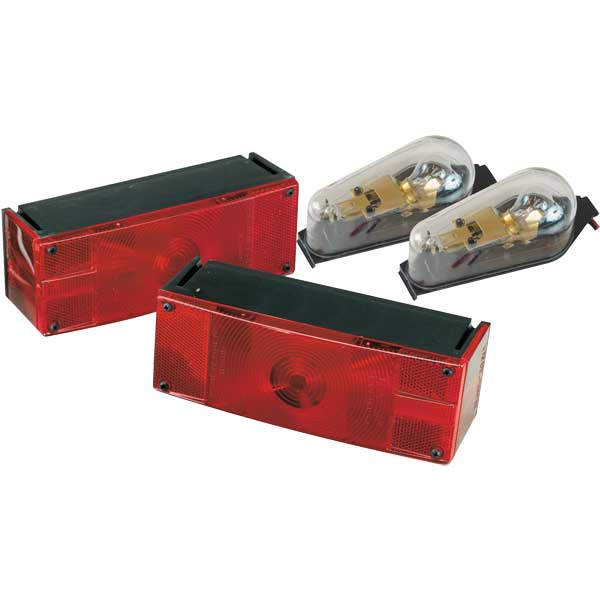 Replacement Boat Lights : West marine waterproof low profile thermoguarded trailer