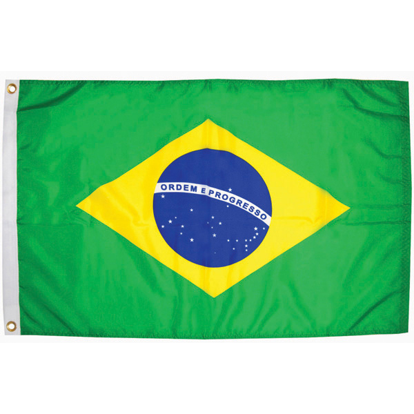 Brazil Courtesy Flags