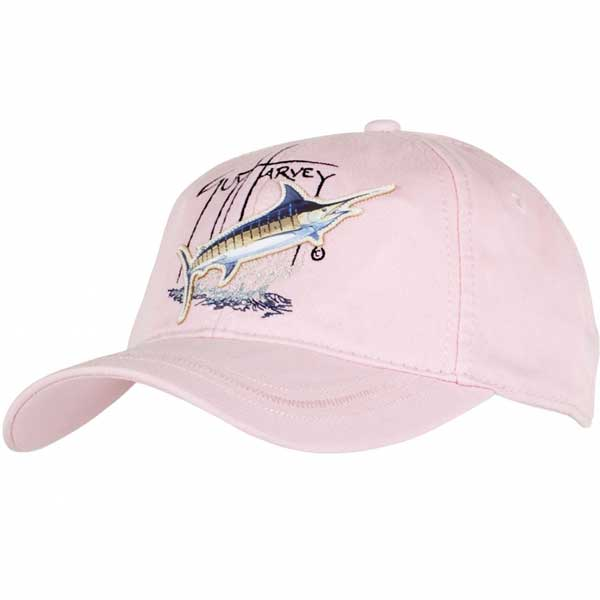 1ae9efe99f75c GUY HARVEY Women s Blue Marlin Applique Hat