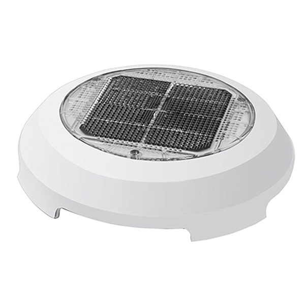 Marinco 4 Quot White Plastic Solar Powered Nicro Vent West