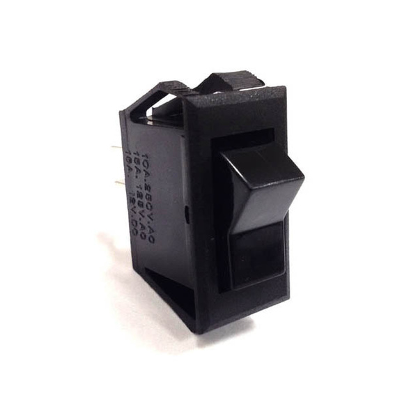 Rocker Switch On-Off, SPST, For use in RK22070 Panel