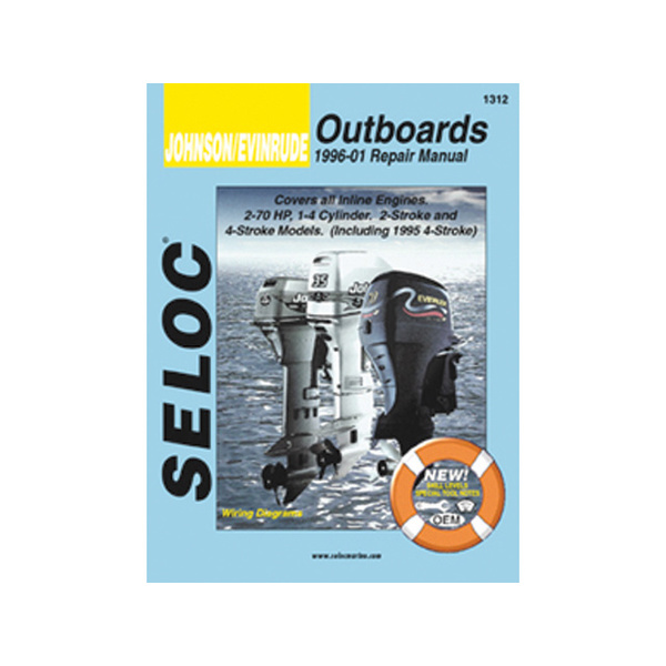 sierra seloc manual for johnson evinrude outboards 1990 2001 west marine 1996 Johnson Outboard Wiring Diagrams 1995 Mercury Outboard
