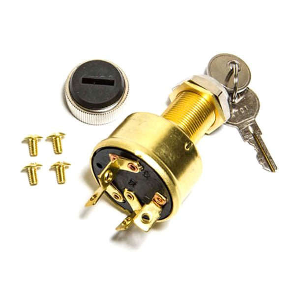 sierra 4 position ignition switch conventional, accessory off run4 position ignition switch conventional, accessory off run start
