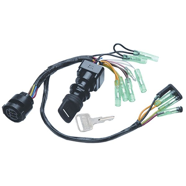 sierra yamaha dash ignition switch, exact oem west marine Yamaha 200 Outboard Wiring Diagram yamaha dash ignition switch, exact oem