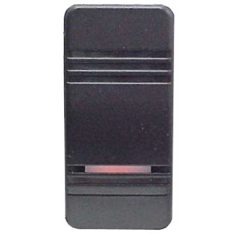 Contura® III Illuminated Rocker Switches, Black
