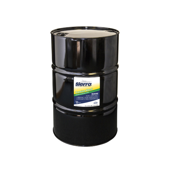 Sierra premium lower unit gear lube 55 gallons west marine for 55 gallon motor oil prices
